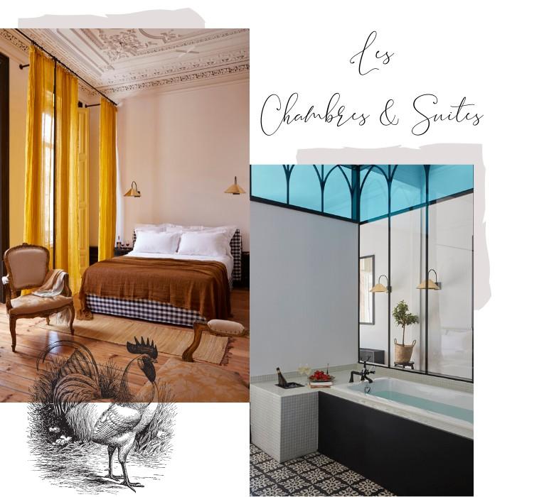 Les Chambres et Suites